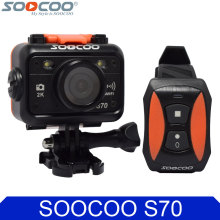 Original SOOCOO S70 Wifi 2K 30fps Bare Waterproof Sport Action Camera+Remote Control Watch+Extra Battery+Battery Charger Options