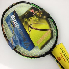 Hot DUORR 10 badminton racket with string and overgrip good quality badminton rackets made of carbon fiber duora 10 racket