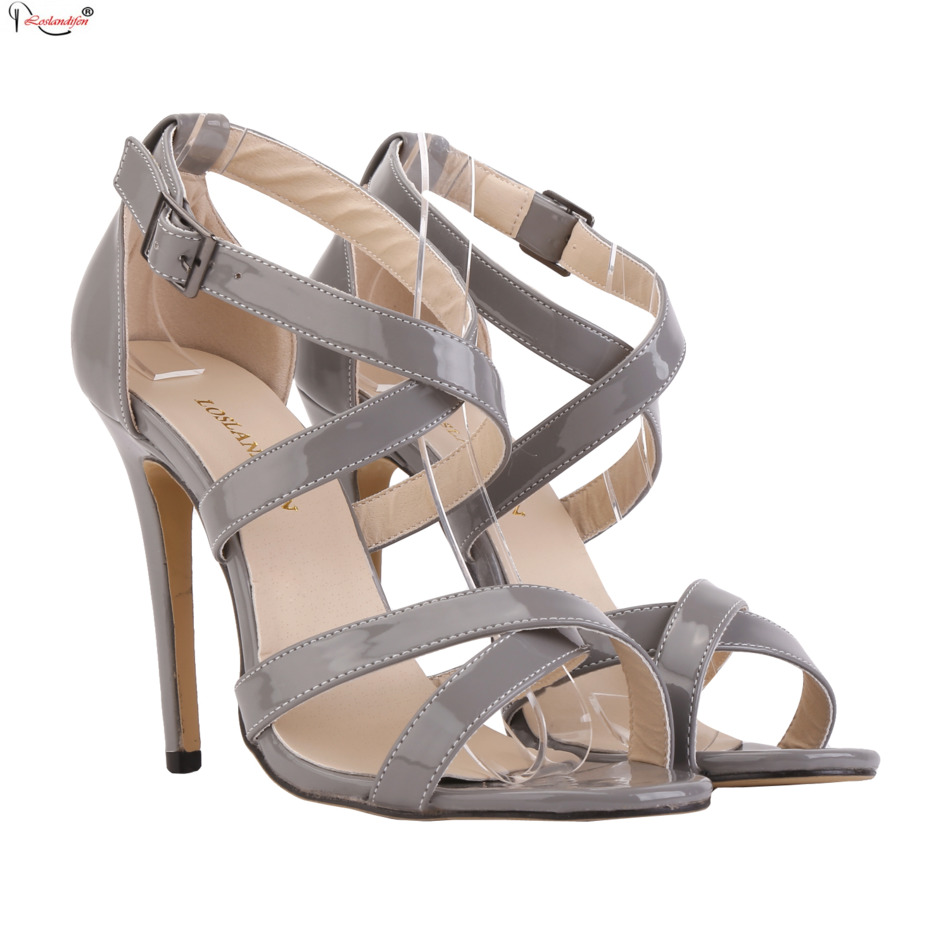 Size 35-42 2017 Hot Sale Summer Sexy Woman Casual Leather Sandals Open Toe Women Shoes Designer High Heels Sandal SMYNLK-BB0043<br><br>Aliexpress