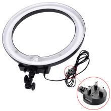 "Neewer Camera Photo/Video 18"" 600W 5500K Dimmable Ring Fluorescent Flash Light Ring Shape UK Plug for photography enthusiasts(China)"