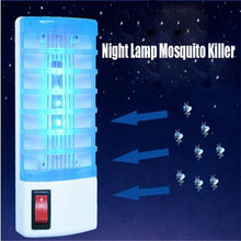 Free shipping Eco-friendly Mosquito Killer Trap Lamp Wasp Fly Flies Bug Mosquito-killing Pest Zapper EU Plug 220V