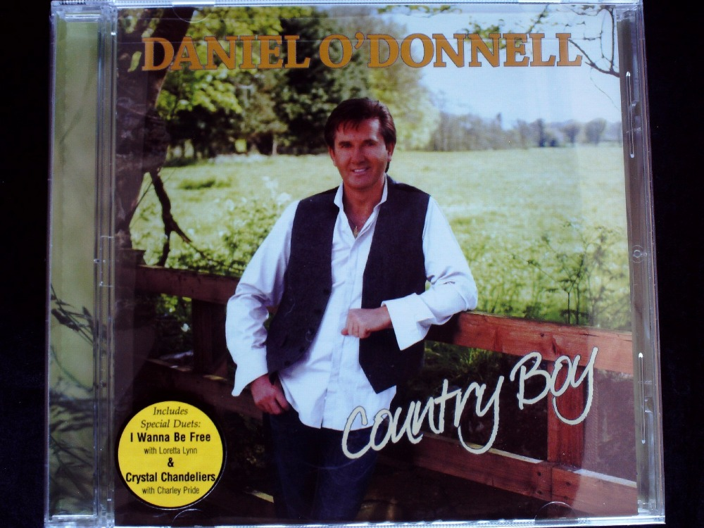 Daniel O'Donnell - Country Boy CD New Sealed  -  41CD Store store