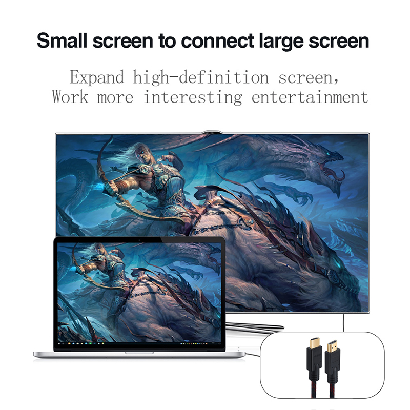 Lungfish High Speed HDMI Cable Supports Ethernet,4K,1080P Ultra HD, HDR Video, Bandwidth 18Gbps Audio Return Channel 1M 2M 3M 5M
