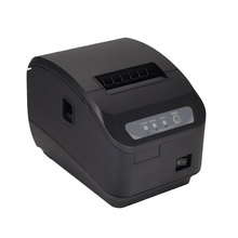 pos printer High quality 80mm thermal receipt printer automatic cutting USB+Serial port/Ethernet ports 200 mm / s