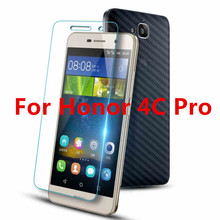 For Huawei Honor 4C Pro Case Tempered Glass Film 9H UltraThin Real Premium Screen Protector fundas Accessory For Honor 4CPro