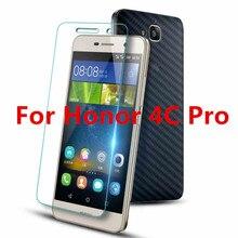 Для Huawei Honor 4C Pro Случае Ультратонких Настоящее Премиум Закаленное Стекло Фильм 9 H Протектор Экрана fundas Аксессуаров Для Honor 4 CPro