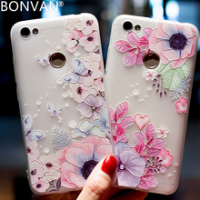 Buy BONVAN Relief Flower Patterned Case Xiaomi Redmi Note 5A Prime Soft TPU Floral Scrub Back Cover Redmi Y1 Lite Matte Case for $2.99 in AliExpress store