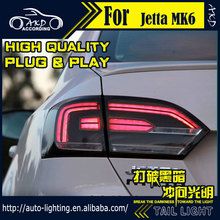 AKD Car Styling Tail Lamp for VW Jetta Tail Lights Jetta MK6 LED Tail Light LED Signal LED DRL Stop Rear Lamp Accessories(China)