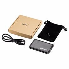 "Zheino USB2.0 1.8"" ZIF CE Hard Disk Drive HDD IDE PATA 40Pin External Enclosure Transparent Case Box with Travel Pouch"