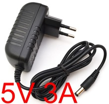 1pcs high quality 5v 3a Dc 5.5mm Ac/dc Power Adapter EU Plug Supply Charger 5v3a For Tv Box Mxq Other The 5v3000mA(China)