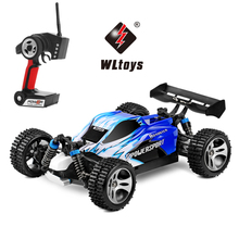 RC Cars Wltoys A959 4WD Drift 45km/h High Speed Racing Monster Truck Off-Road Vehicle Buggy Remote Control Car Model Hobby Toys(China)