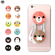Cute Pop Finger Holder Socket Fashion Anti-Fall Stander Mobile Phone Desk Table Expanding Stand Grip POP Mount For iPhone Xiaomi(China)