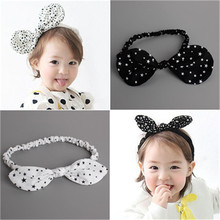 4Styles Beautiful Girls Bowknot Stars Headbands with Elastic Hairband Kids  DIY Crafts Hair Accessories
