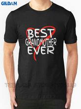 Gildan Teeplaza Shirt Design Website Short O-Neck Compression Mens Best Grandmother Ever T Shirts(China)