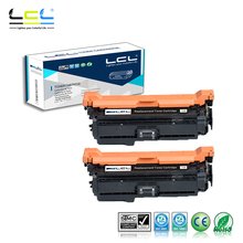 LCL 507X 507A CE400X CE400A (2-Pack Black) Laser Toner Cartridge Compatible for HP Enterprise 500 color M551/N/DN/XH(China)