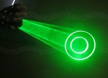 2016 auto moving green laser gloves palm laser for DJ dancing club rotating laser show light great pub party laser device L or R(China)