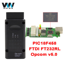 For Opel V1.70 2014V OP COM PIC18F458 FTDI FT232RL Chip Diagnostic Tool OpCom Diagnostic Cable For Opel OBD2 OBDII Scanner(China)