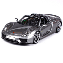 Maisto Bburago 1:24 Psc 918 Spyder Sports Car Diecast Model Car Toy New In Box Free Shipping 21076