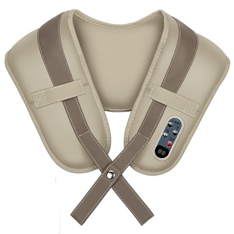 High-end shoulder neck beat massager cervical massage home health instruments waist shoulder knock back massager body relax<br>
