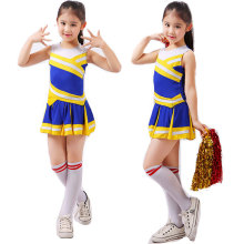 Student Competition Cheerleaders Girl School Uniform Cheer Team Uniforms Kids Performance Costume Sets Girls Class Suit Rooter(China)