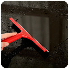 New Colorful Window Mirror Car Windshield Squeegee Glass Wiper Silicone Blade Cleaning Shower Screen Washer(China)
