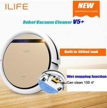Best  Smart Wet Robot Vacuum Cleaner V5s Wet and Dry Clean HEPA Filter,Ciff Sensor,Self Charge, ROBOT ASPIRADOR