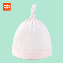 GB Soft Cotton & Modal Baby Hat Breathable Comfort Newborn Knotted Hat Baby Nursing Beanies for 0-6M(China)