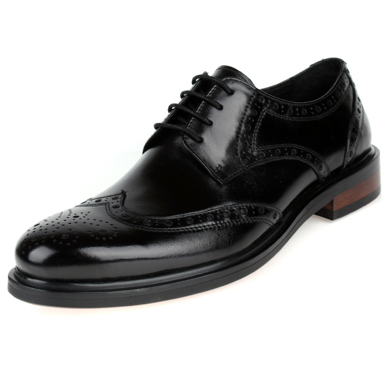 2016 Brand Fashion Brogue Leather Men Oxford, Casual Oxford Shoes For Men, Fashion Men Shoes Lace-up Excellent Quality Man Flats<br><br>Aliexpress