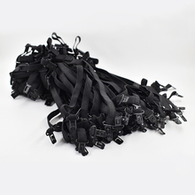 New 2017 Bow ties For Men Tie adjustment rope Adjust the belt 50 pcs Maximum Length Adjust about 45CM Elastic band(China)