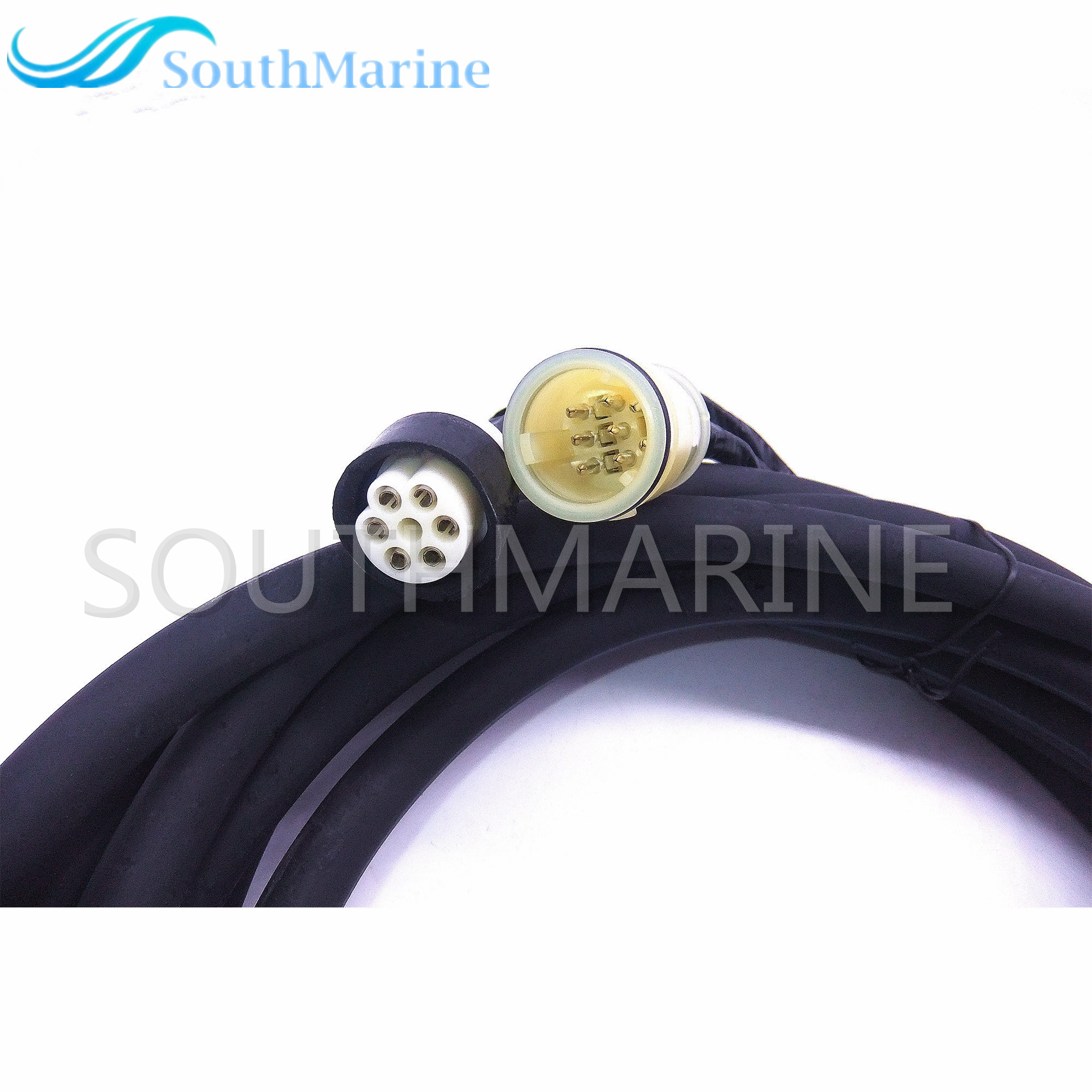 Yamaha New Oem 10pin Main Engine 20ft Wire Harness Extension 688 8258a 60