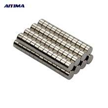 AIYIMA 100pcs D5*3MM Strong Round Magnet 5x3 Rare Earth Neodymium Magnets 5mm*3mm Magneti Neodimio Imanes Circular Magnetic Tape