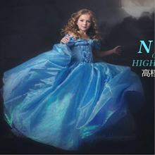 2016 Summer Dance competition dress, wearing fashionable clothing's classic cartoon Cinderella princess brand dress