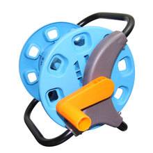 Hot Sale Magic Empty Hose Reels Small Garden Hose Cart Water Pipe Storage Holder Save Space Garden Hose Storage Reels Car H-GA06