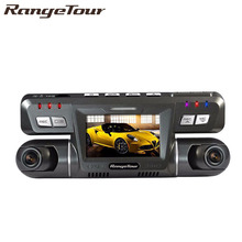 Range Tour Dual Lens Car Cam Novatek 96655 Chip Car DVR Full HD 1920 x 1080P Dash Cam 2 Camera Video Recorder B80(China)