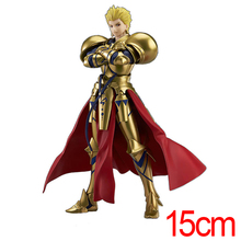 C&F Fate/stay night Anime Action Figure Toys 15 CM Gilgamesh Assemble PVC Model Collectible Figures Toys For Boys Gifts(China)