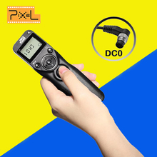 Pixel T3 DC0 Wired Timer Remote Control Cable for Nikon D800 D810 D700 D500 D300 D200 D1 D2 D3 Camera vs  Shoot Shutter Release