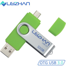 LEIZHAN USB 3.0 Flash Drives 16GB Android Phone Micro USB 16GB Pen Drive Smartphone U Disk 8GB Pendrive Mobile Memory Stick 64GB(China)