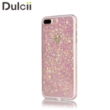 for iPhone 7 Plus Mobile Phone Cases Glittering Sequins Color Changing TPU Soft Back Phone Bag Case for iPhone 7 Plus Cover