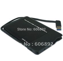 Free shipping  Hot sell popular style 2.5 inch SATA to USB3.0 HDD Case Enclosure / Box Good prices