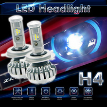 Super Bright light LED Philips Chips 120W 12000LM 160W 16000LM H4 Car Headlamp Bulbs Hi-Lo Beam Error Free Canbus Auto Head Lamp