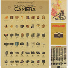 Camera Nostalgia Old Poster Advertising posters Decorative Painting Home Decor Cafe Bar Pub Decoration