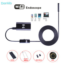 Hidden Wifi Endoscope HD 2m Camcorder 720P Waterproof Mini Camera Endoscopio for Earth Quake Rescue Detection Boroscope Spied(China)