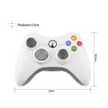 NEW 1 PC Wireless Shock Game Controller For Microsoft xBox 360 xBox360 white