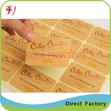 Customized     cheap self adhesive clear BOPP/PP/PE /PET/ PVC label ,custom logo gloss sticker