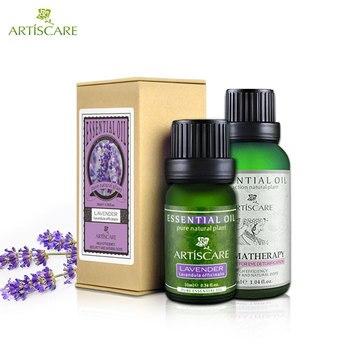 Quitar acnes y Embellecer los ojos, aceite esencial de lavanda 10 ml + ojo aceite esencial 30 ml de aceite de Aromaterapia Masaje cuidado de los ojos