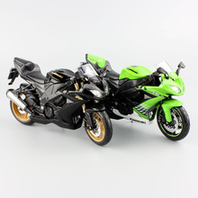 Maisto 2016 hot 1:12 children's Kawasaki NINJAZX-10R diecast motorbike race cars vespa collectible motorcycle models gifts toys