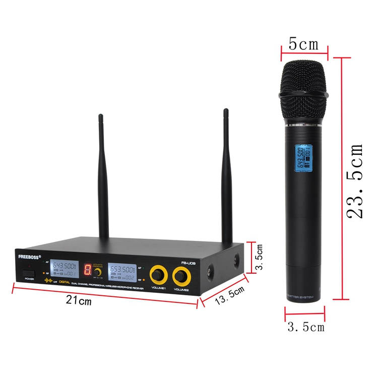 FB-U09 23  Wireless Microphones
