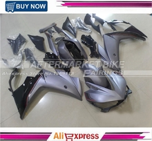 100% Virgin ABS Plastic Fairing Bodywork For Yamaha R3 Kits R25 Matte Grey Fairings Kit 2015 2016