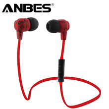 Bluetooth 4.0 Wireless Sport Running Earphone Stereo In-ear Earbud with Microphone Earphone For iPhone Sumsang Xiaomi