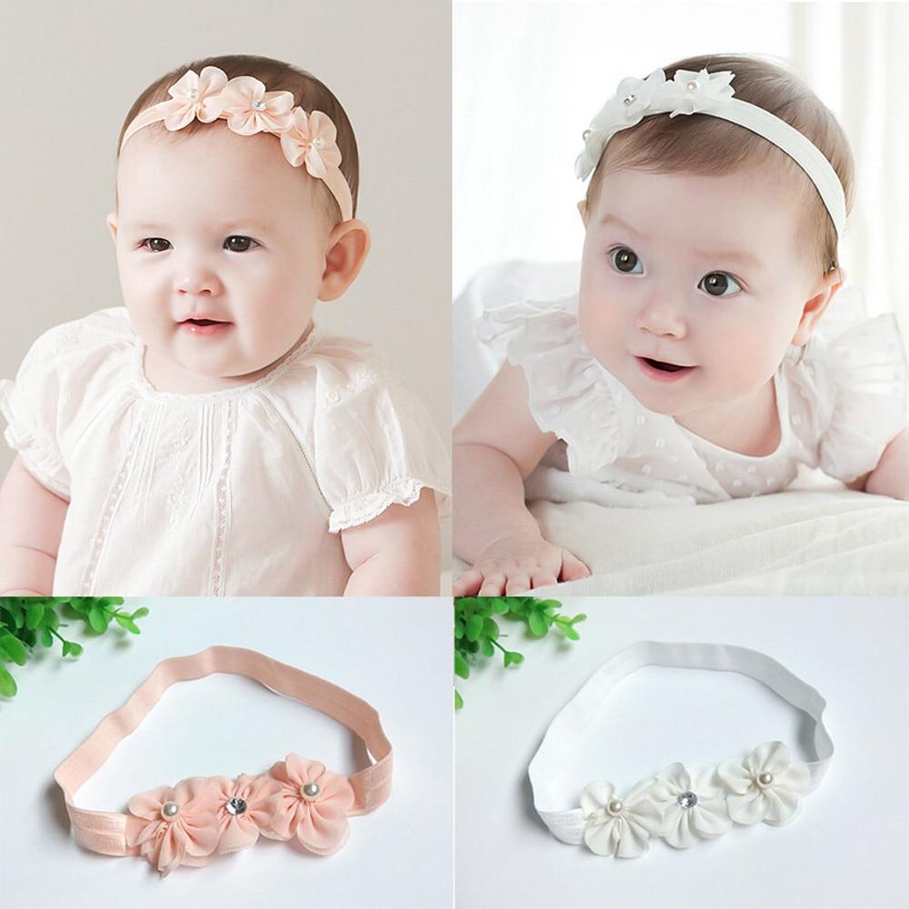 Baby Kid Girls Princess Crystal Diamond Headbands Flowers Elastic Hairband <br><br>Aliexpress